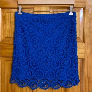 BROOKLYN INDUSTRIES Blue Skirt
